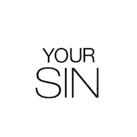 YOUR SIN